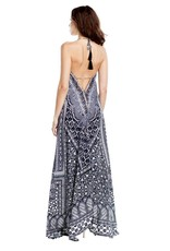Midnight Nomad Maxi Dress