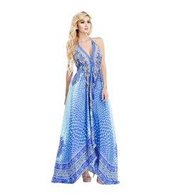 Ocean Diver Maxi Dress