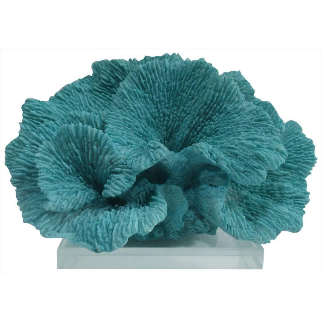 Fancy That Aqua Coral Statue