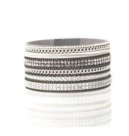 Sunrise USA Trading X-WIde Multi Bracelet Gray