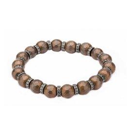 Inox Hematite Stretch Bracelet