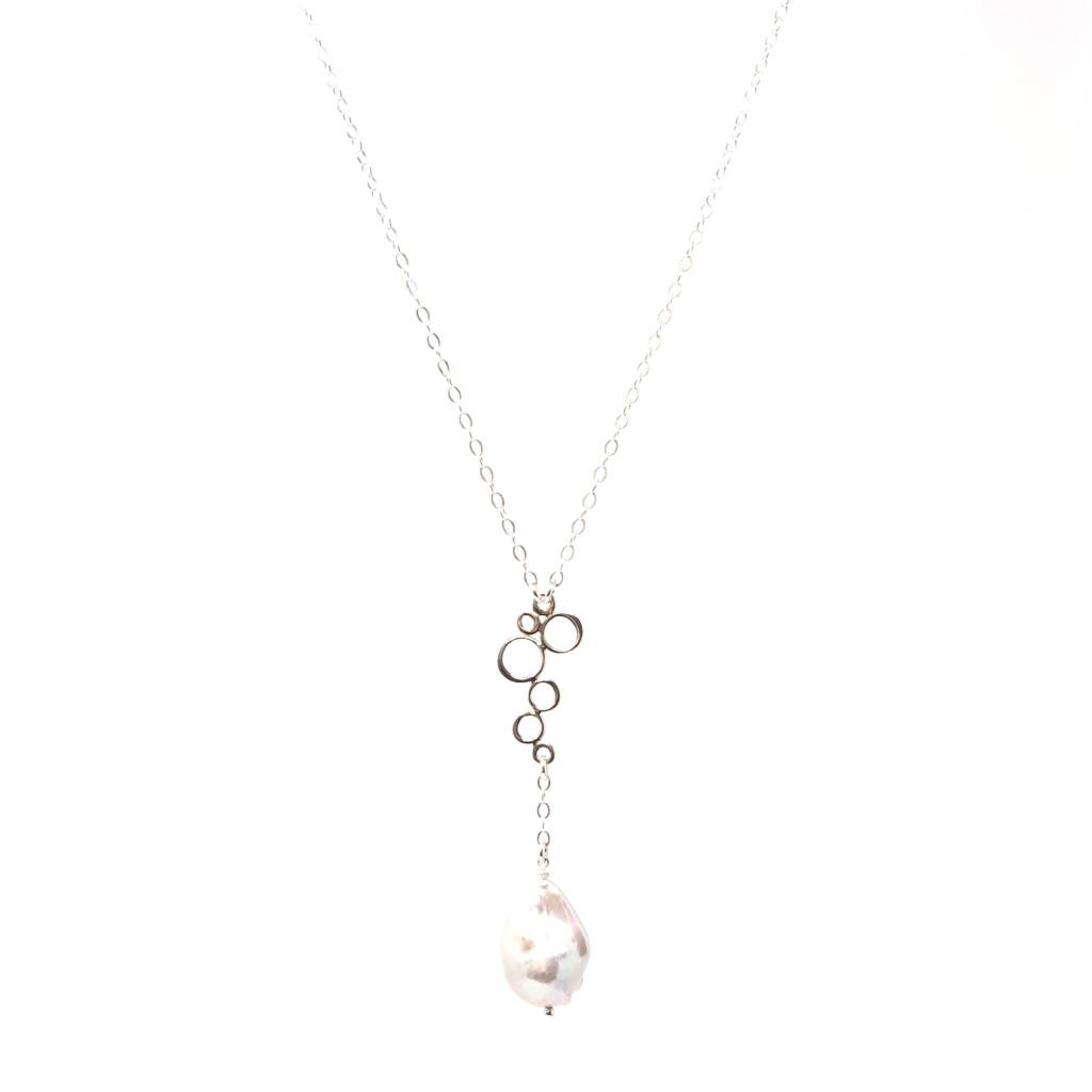 Bubbles Baroque Pearl Necklace