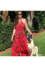 Catalina Tye Dye Red