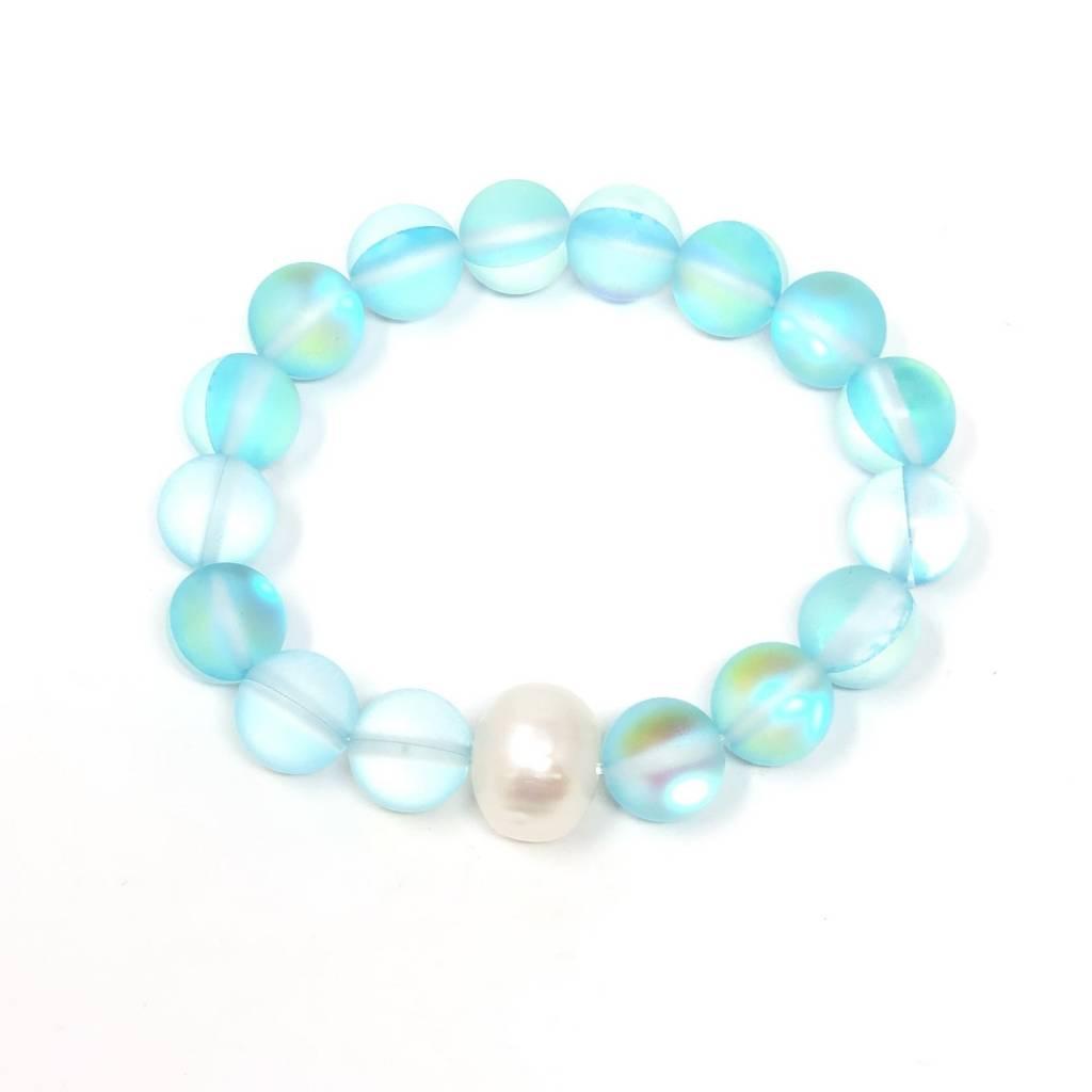 Mermaid Quartz & FWP Bracelet