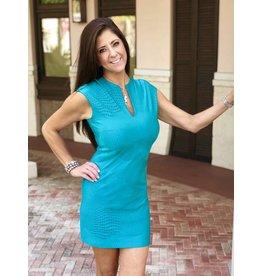 Palm Beach Girl Teal Metro Sophia Dress