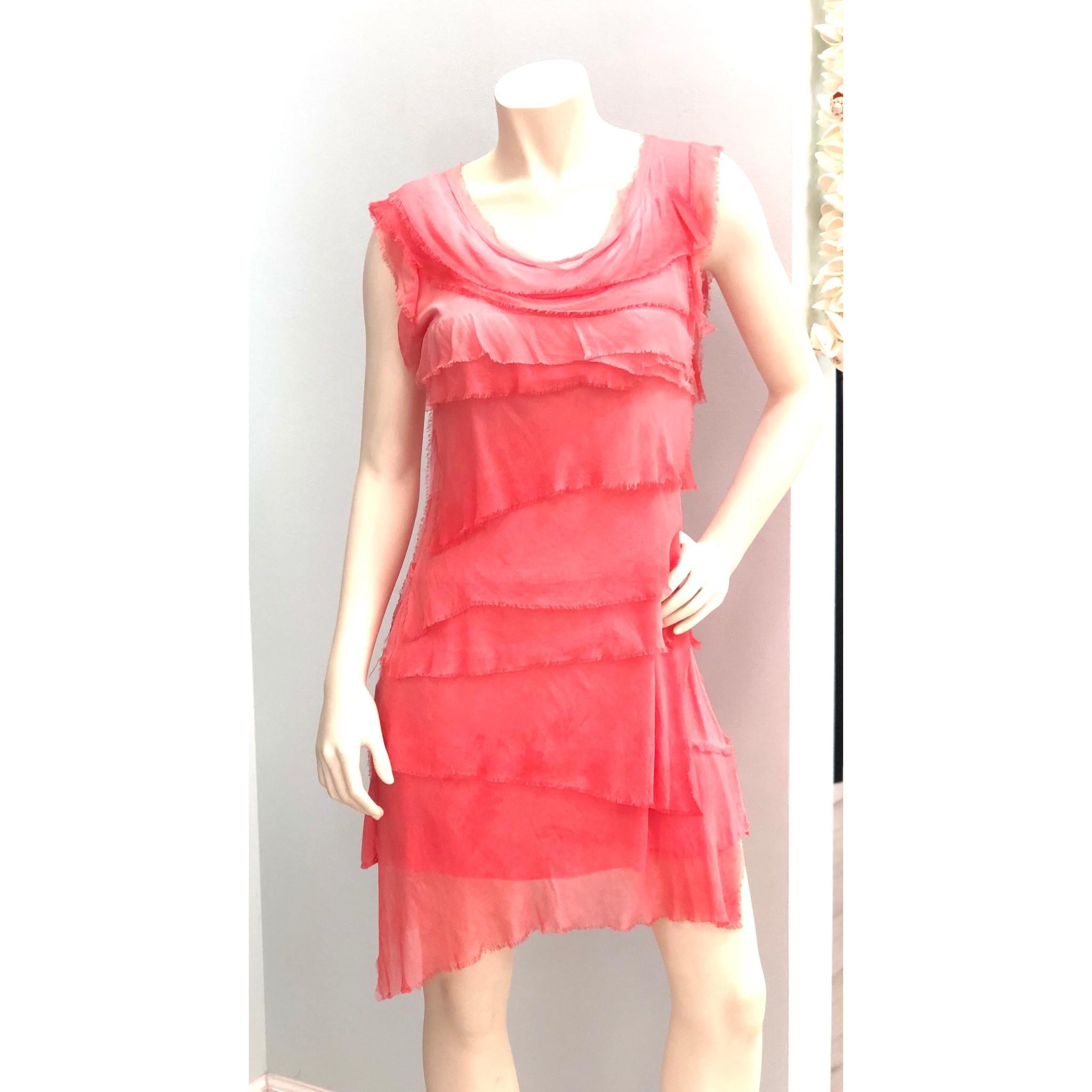 43a3bbcbd19d Coral Flutter Dress Coral Flutter Dress