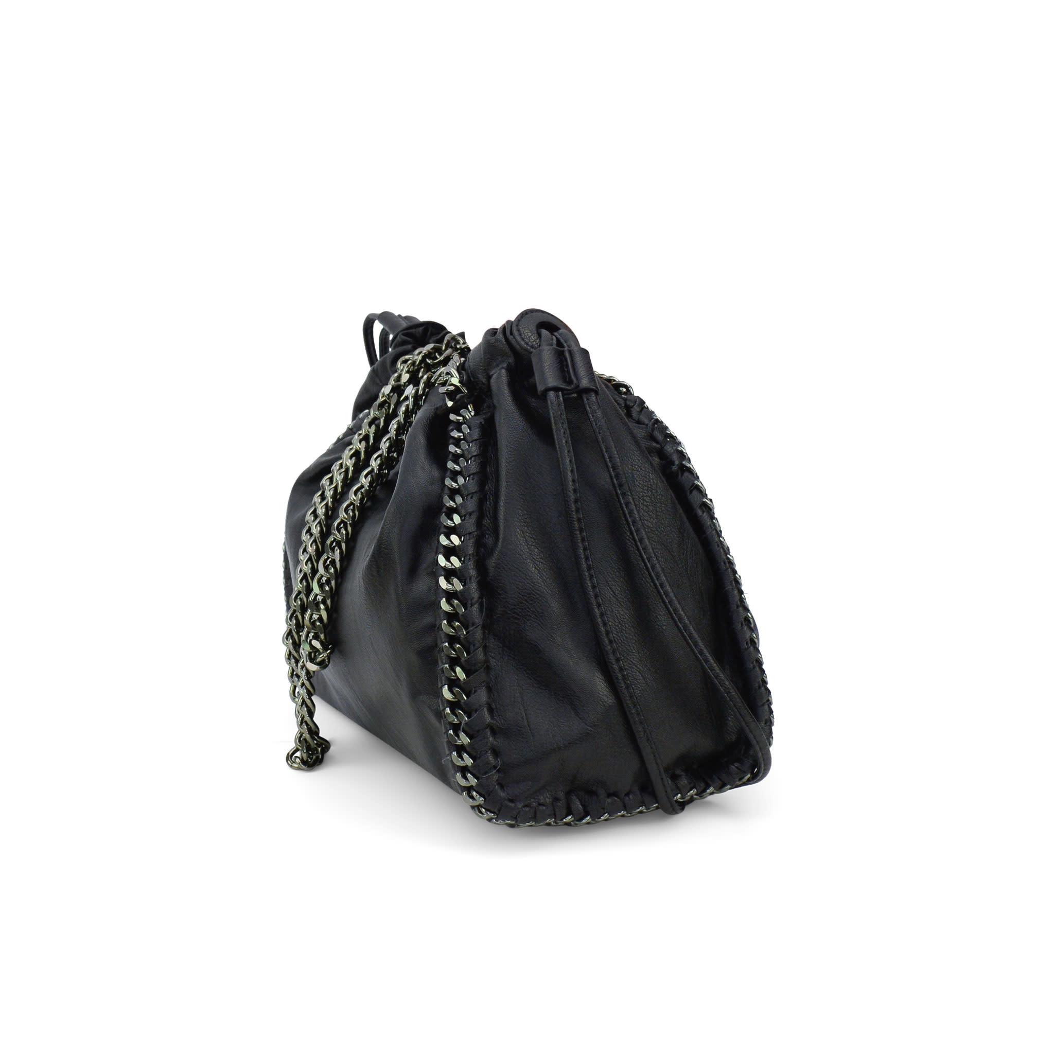 Black Chain Sachel Bag