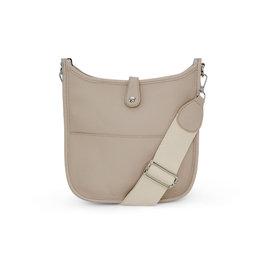 Beige Messenger Bag
