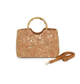 Cork Wood Handle Bag
