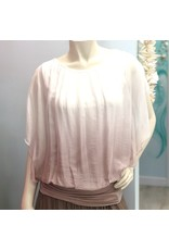 Blush Ombre Silk Top