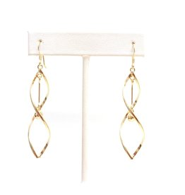 YTC Group GF Twisted Ball Drop Sterling Earrings