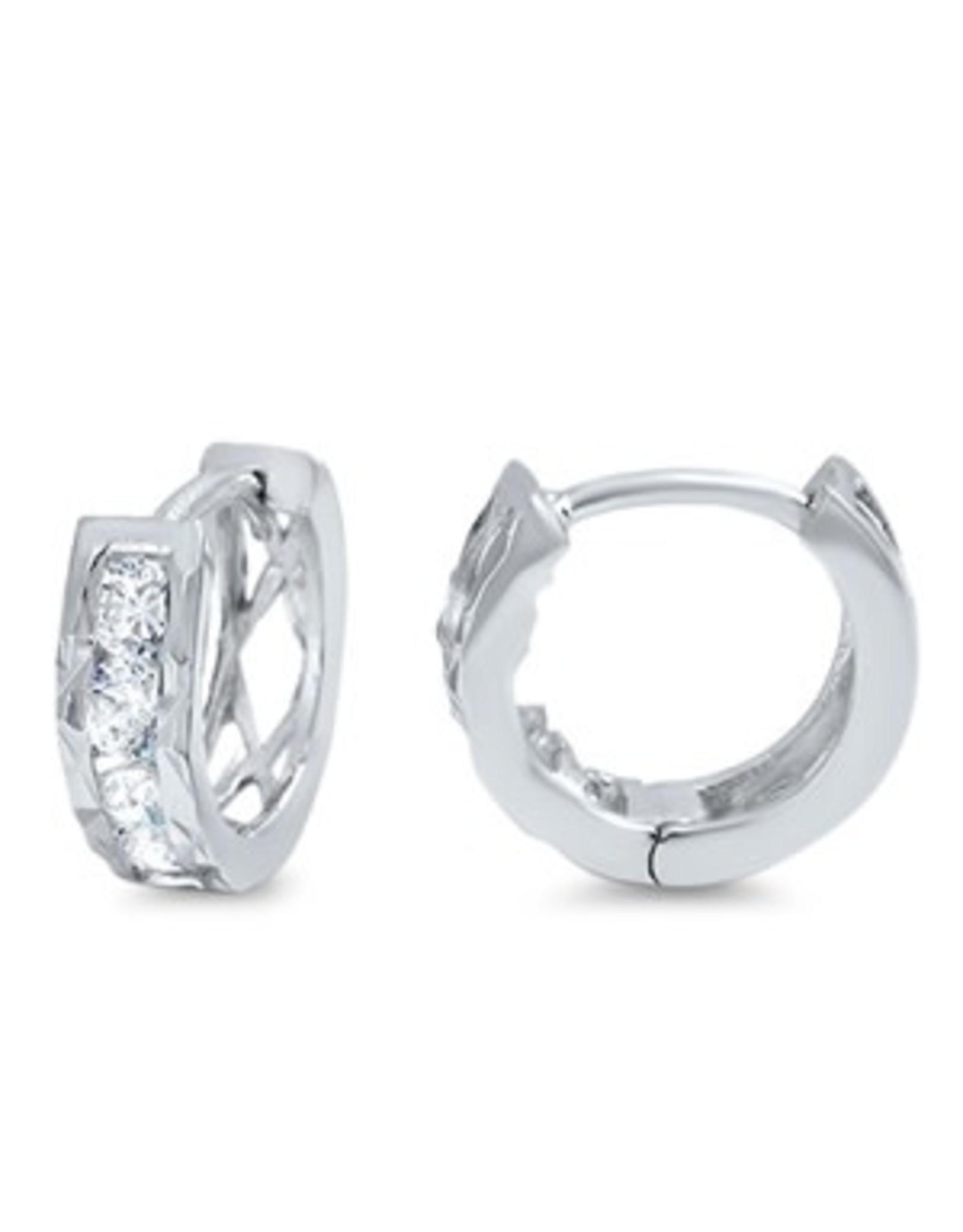Sterling Small Huggie Earrings