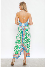 Tropical Handkerchief Dress
