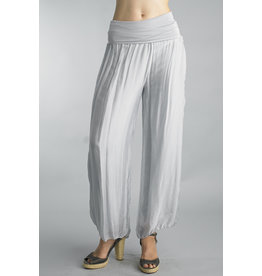 Silver Silk Lined Pants