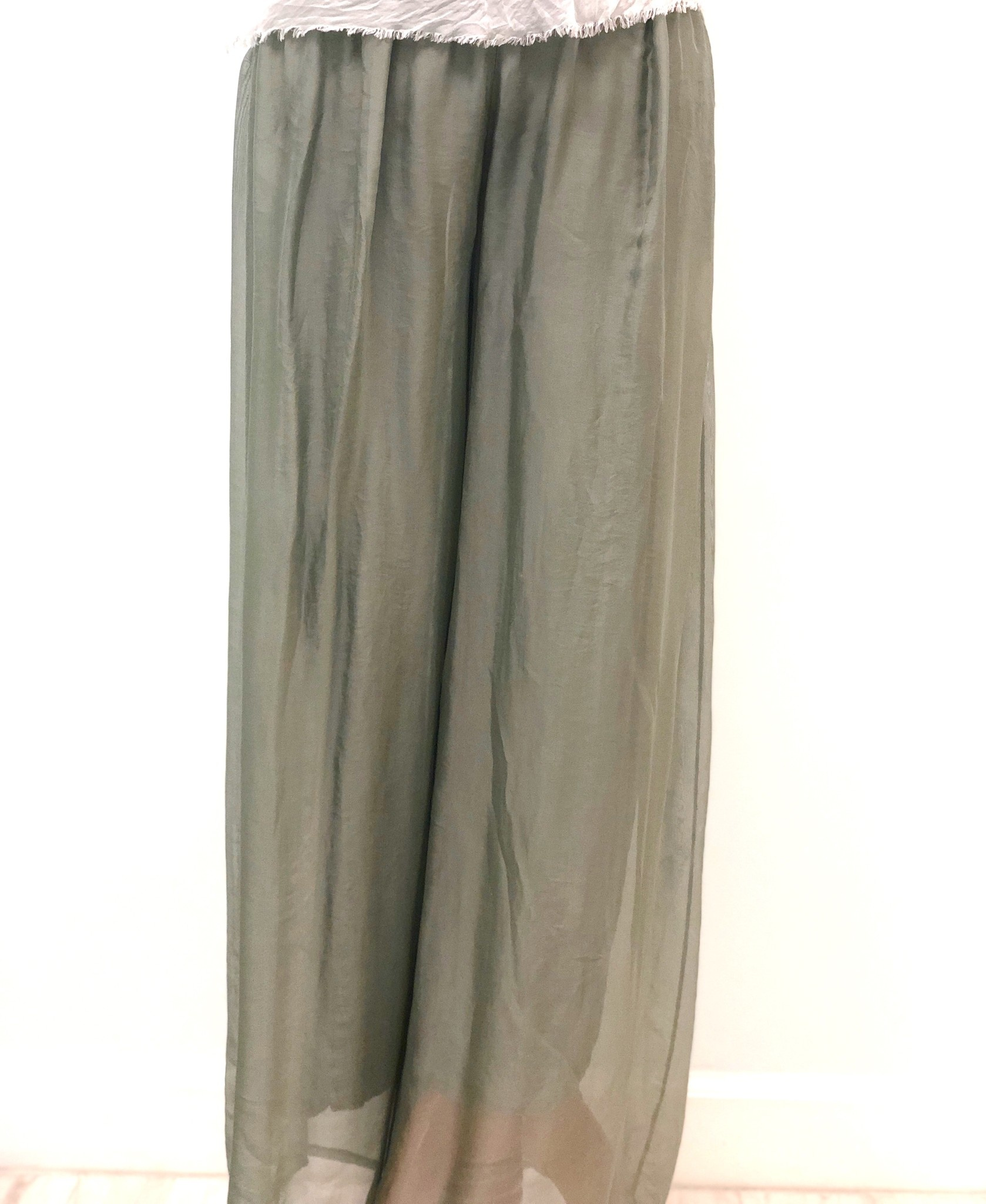 Army Silk Lined Pants