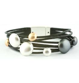 Sunrise USA Trading 7 Bubbles Bracelet Black