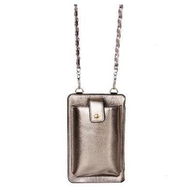 Pewter CC/Cell Phone Bag