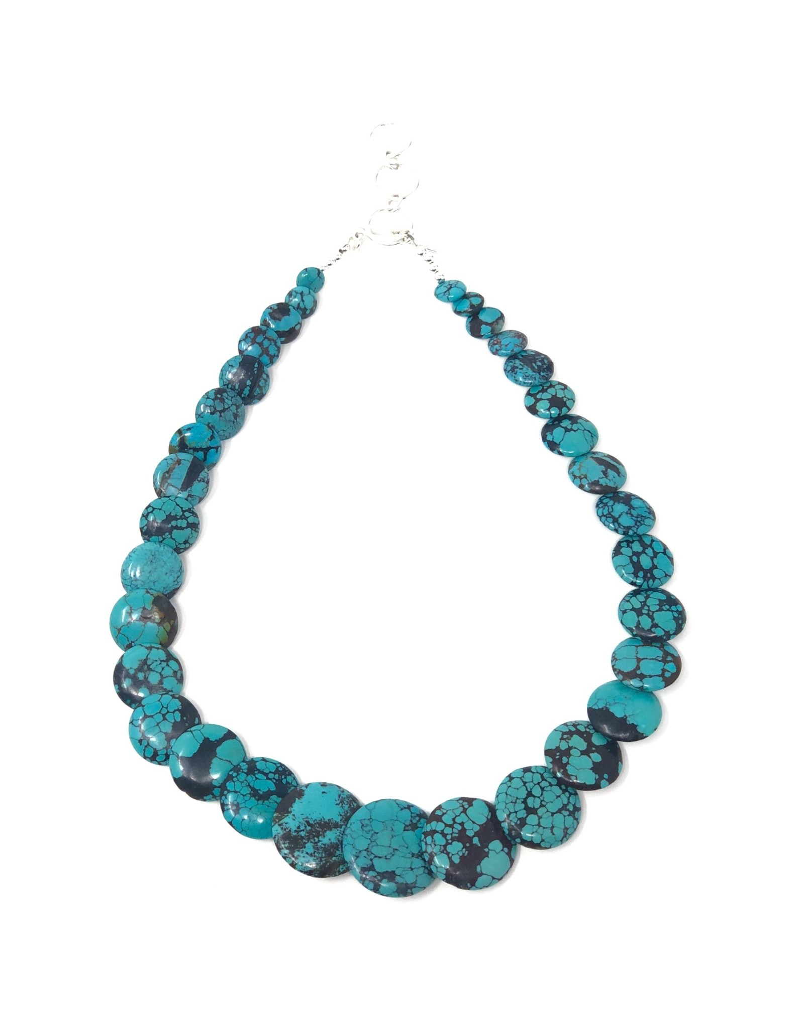 Cloud Mountain Turquoise Necklace
