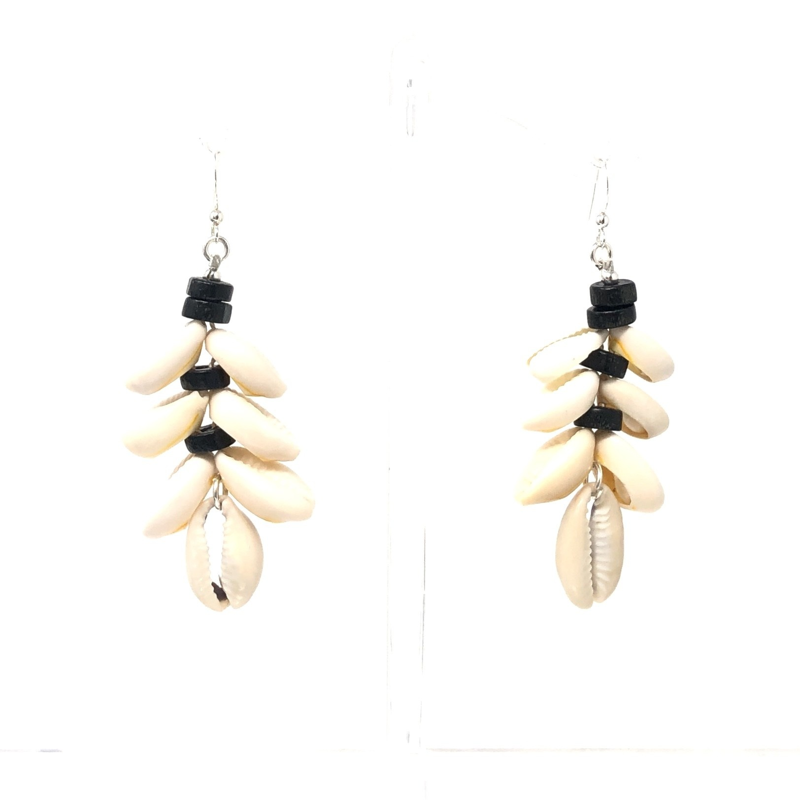 Cowrie Cluster Earrings