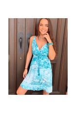 Steam Aqua Yana Dress