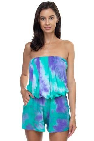 Mermaid Tie Dye Romper