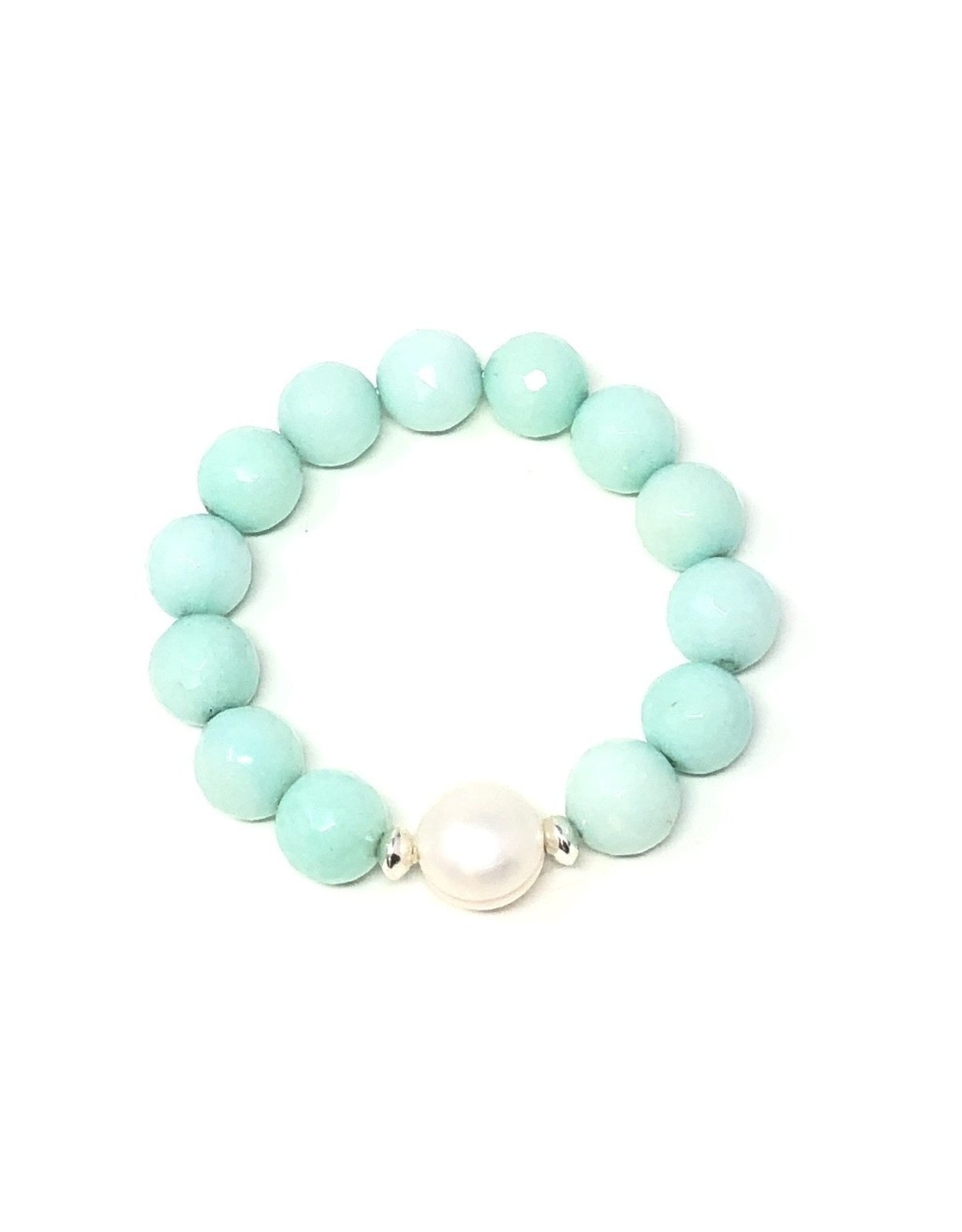 Light Aqua & FWP Bracelet