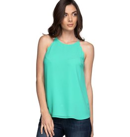 Ice Green Scallop Tank