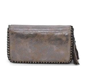 Gold Double Clutch Wallet