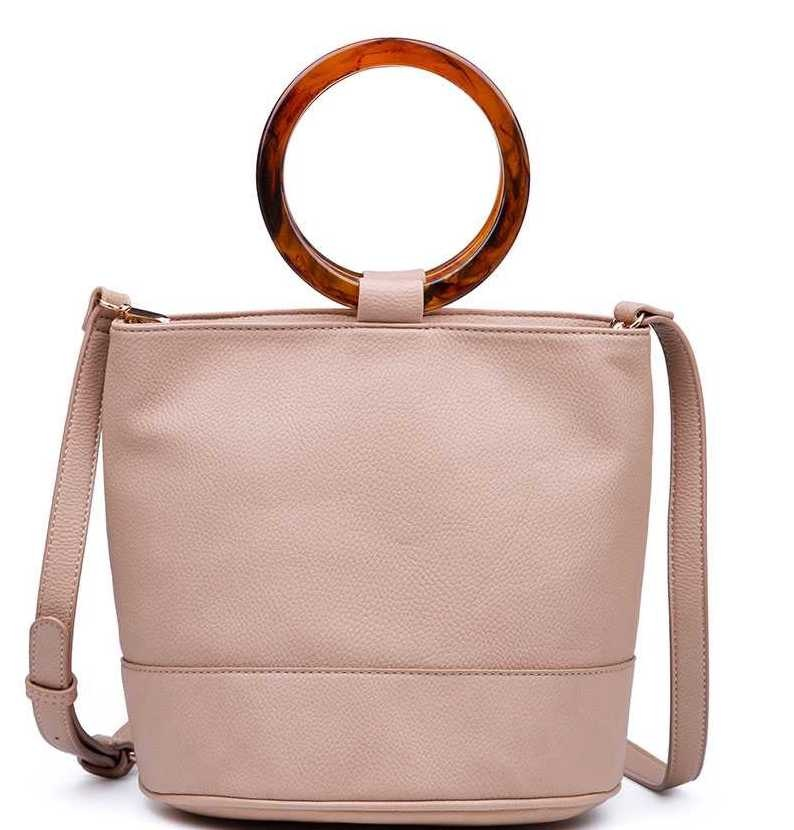 Taupe Clarice Bag