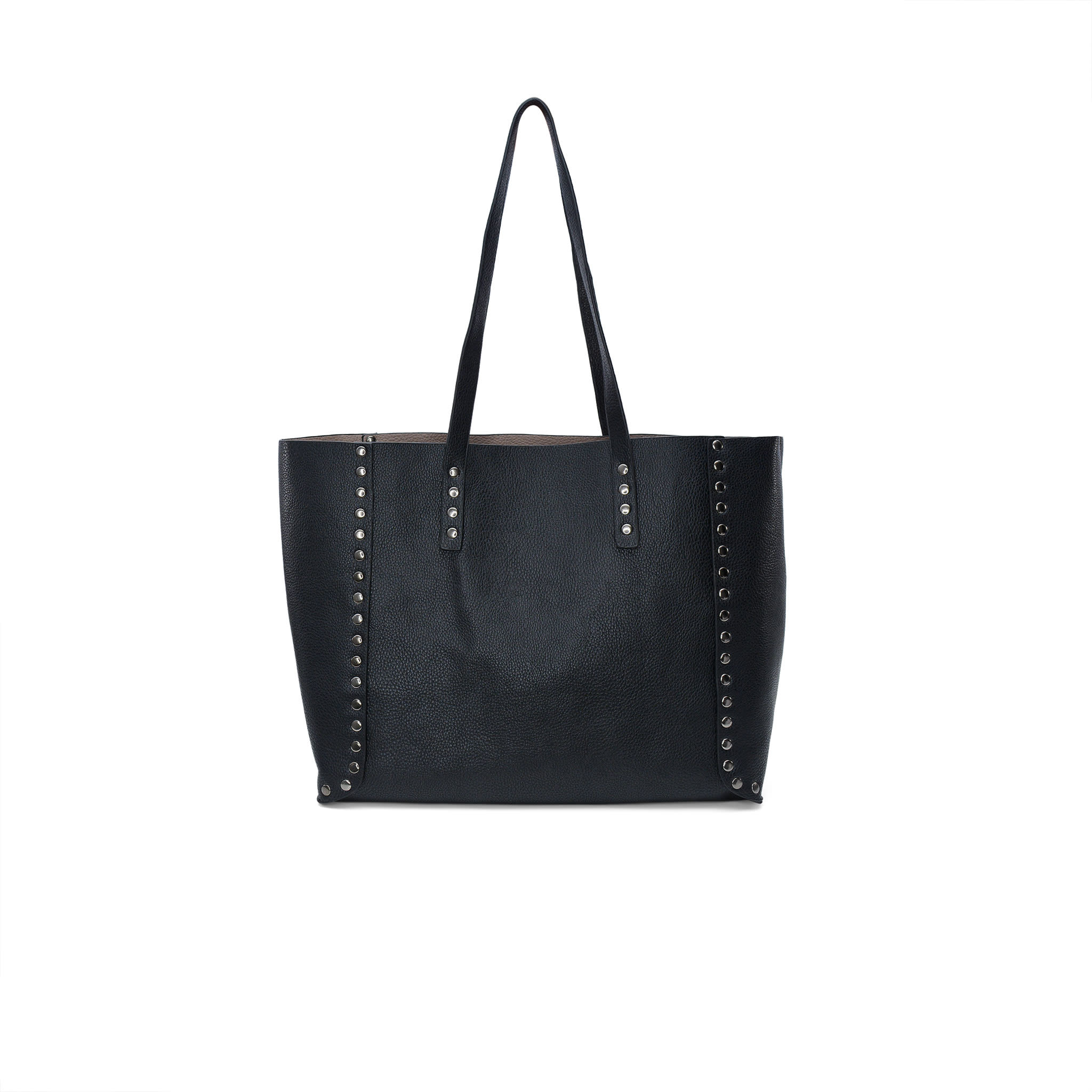 Black/Taupe Reversible Tote