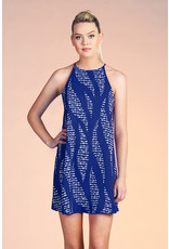 Ocean Waves Shift Dress