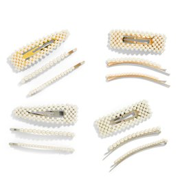 Pearl Hair Clip Set