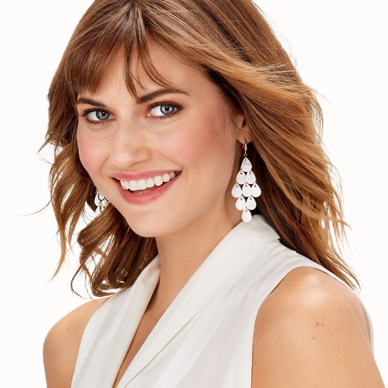 MOP Cascade Earrings