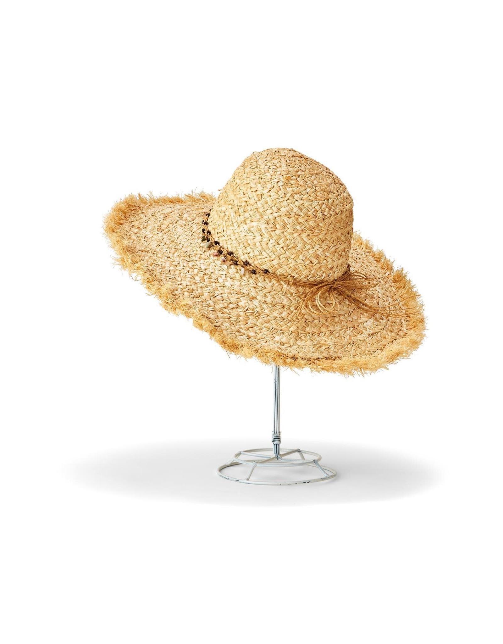Raffia Wide Brim Hat