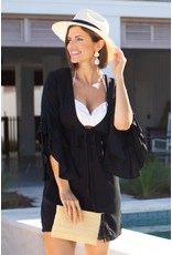 La Mer Lux Black Addison Cover-Up/Dress