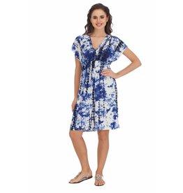 India Boutique Tie-Dye Kimono Dress