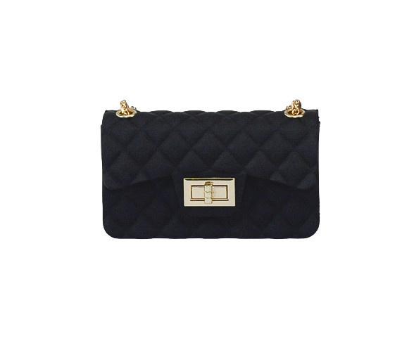 Black Silicone Mini Bag