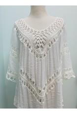 India Boutique Crochet Tunic
