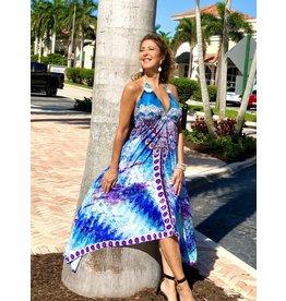 India Boutique Ariel Handkerchief Dress