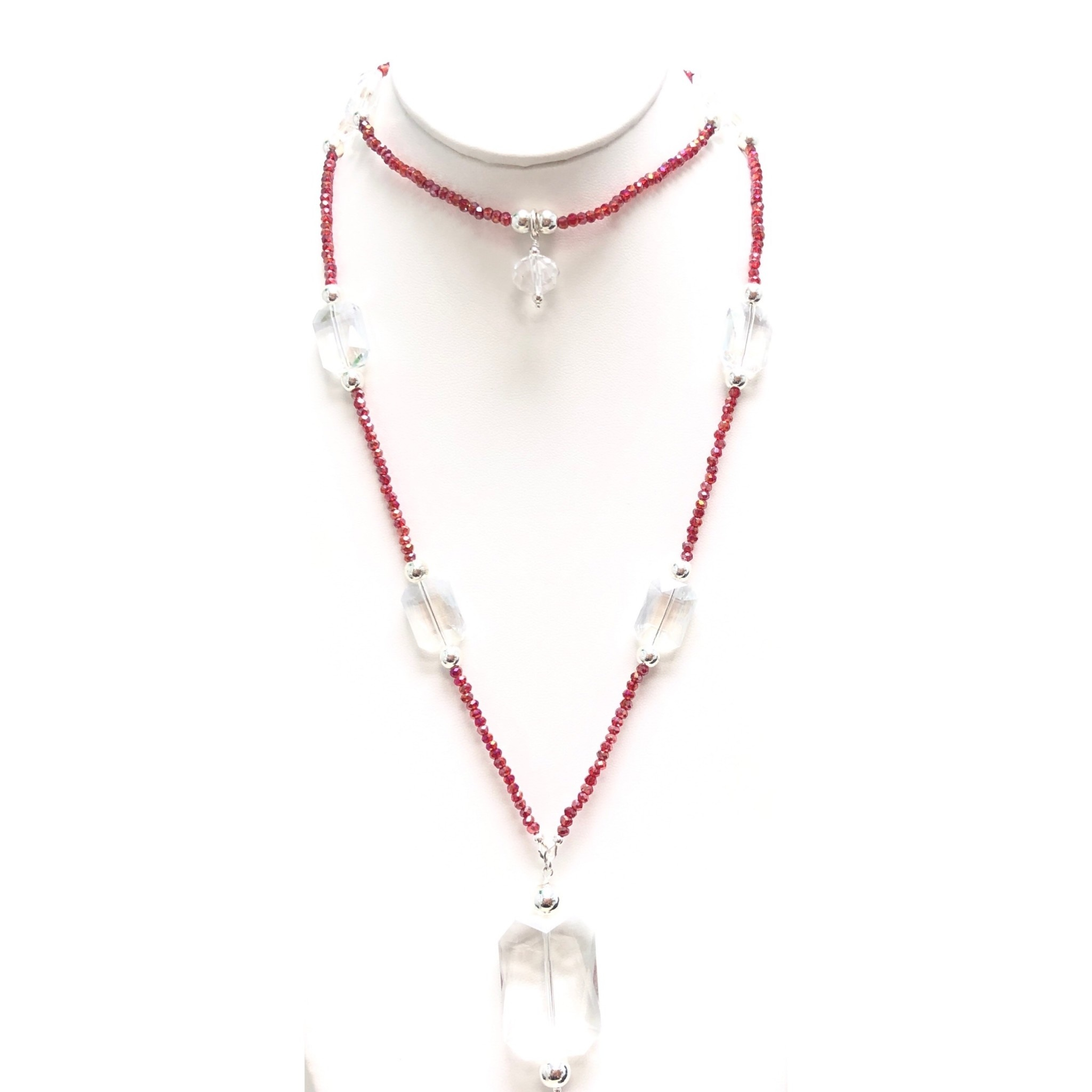 Punch Crystal Necklace