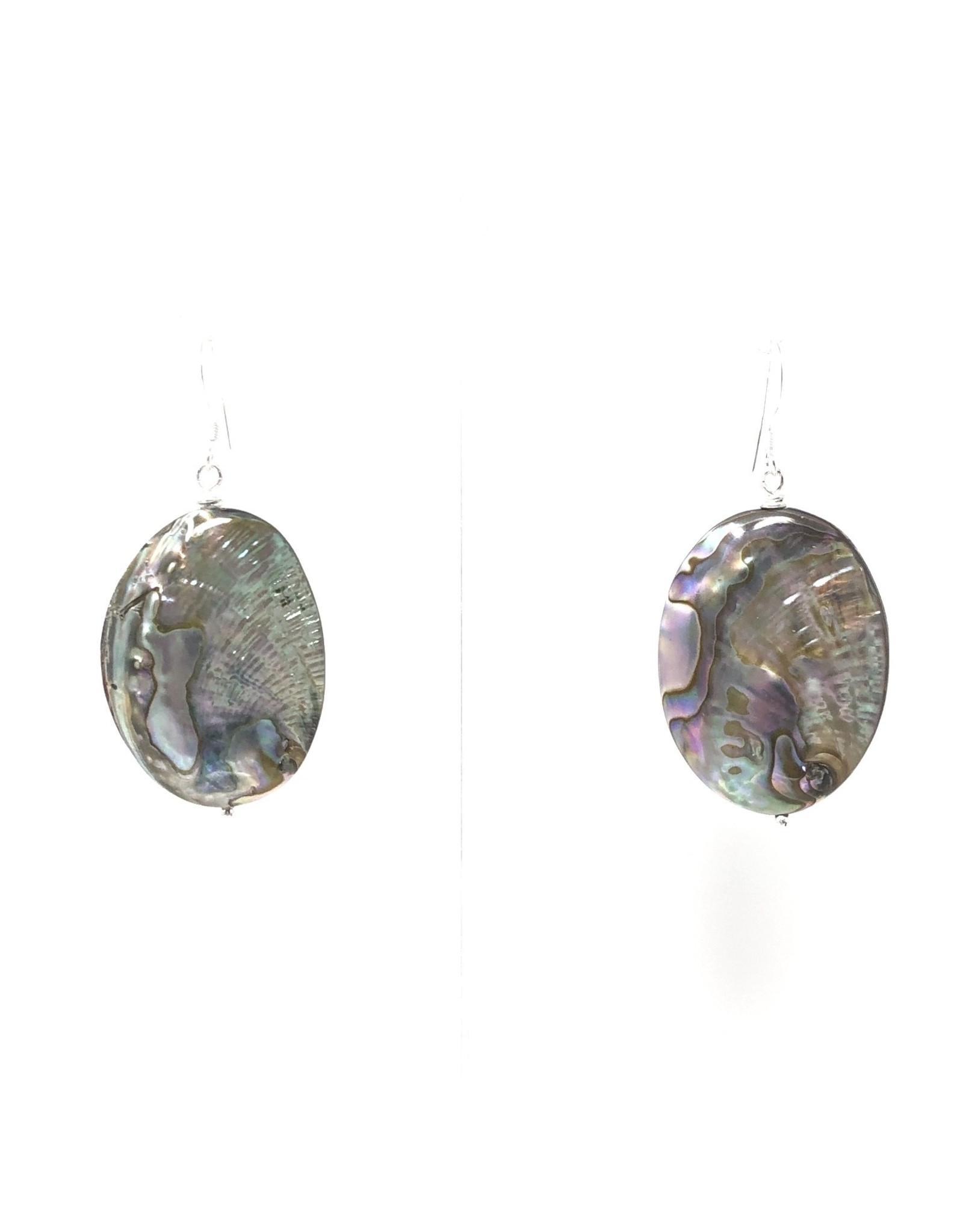 Small Abalone Earrings