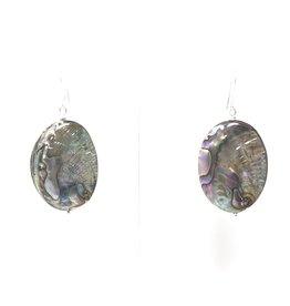 Small Abalone Earrings