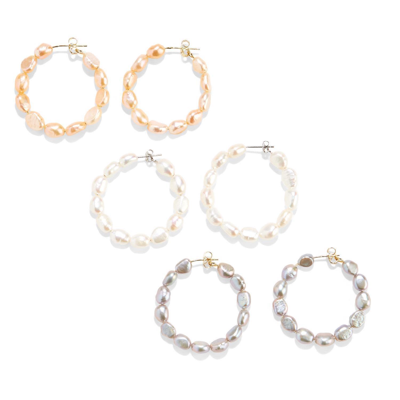 FWP Hoop Earrings