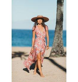 XIX Palms El Camino Wrap Dress