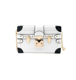 White Grace Box Clutch