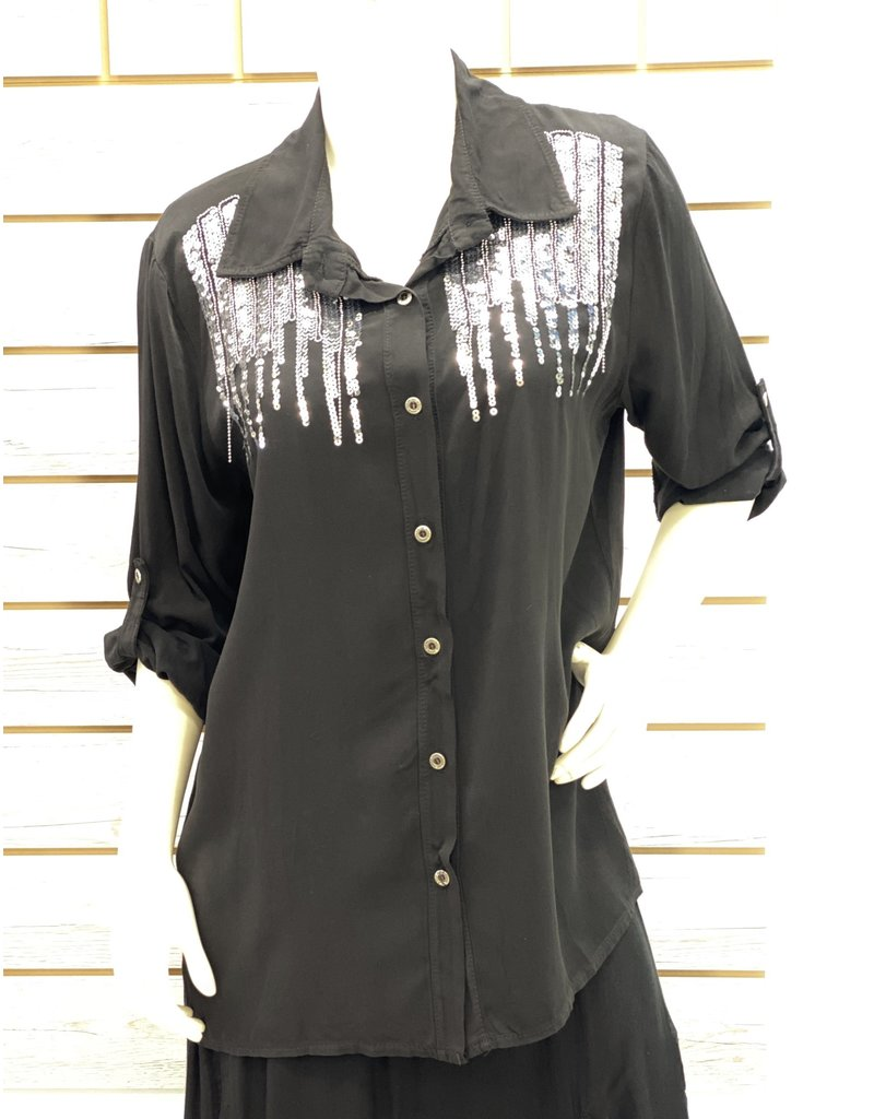 Black Angelina Top