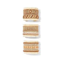 Adjustable Ivory Cuff Bracelet