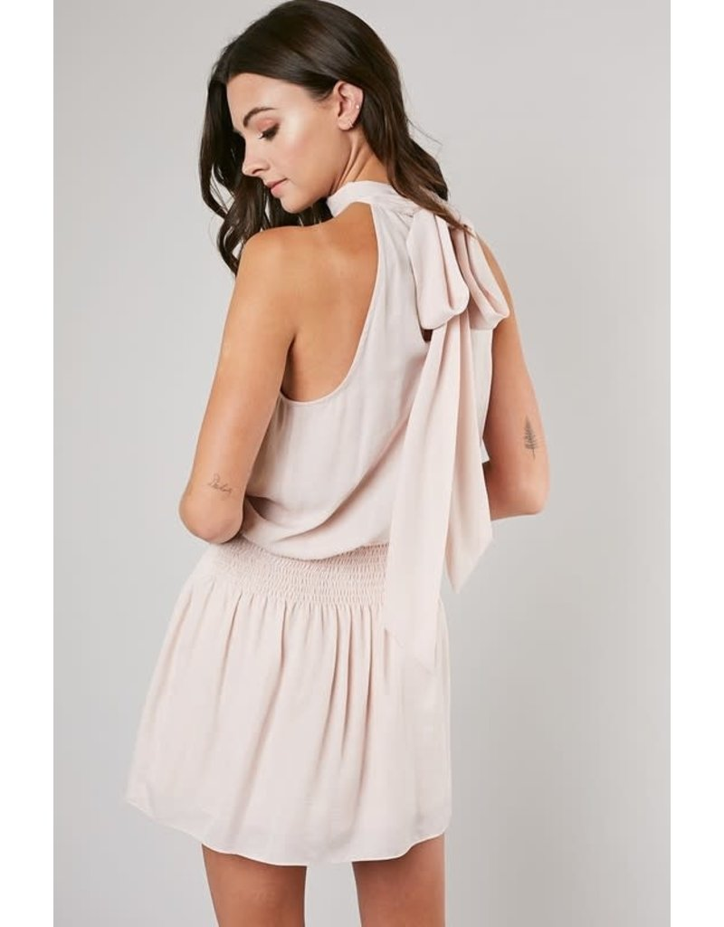 Bone Blair Halter Dress