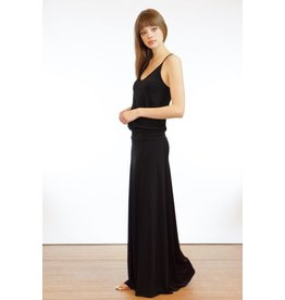 Veronica M Black Tank Drop Waist Maxi