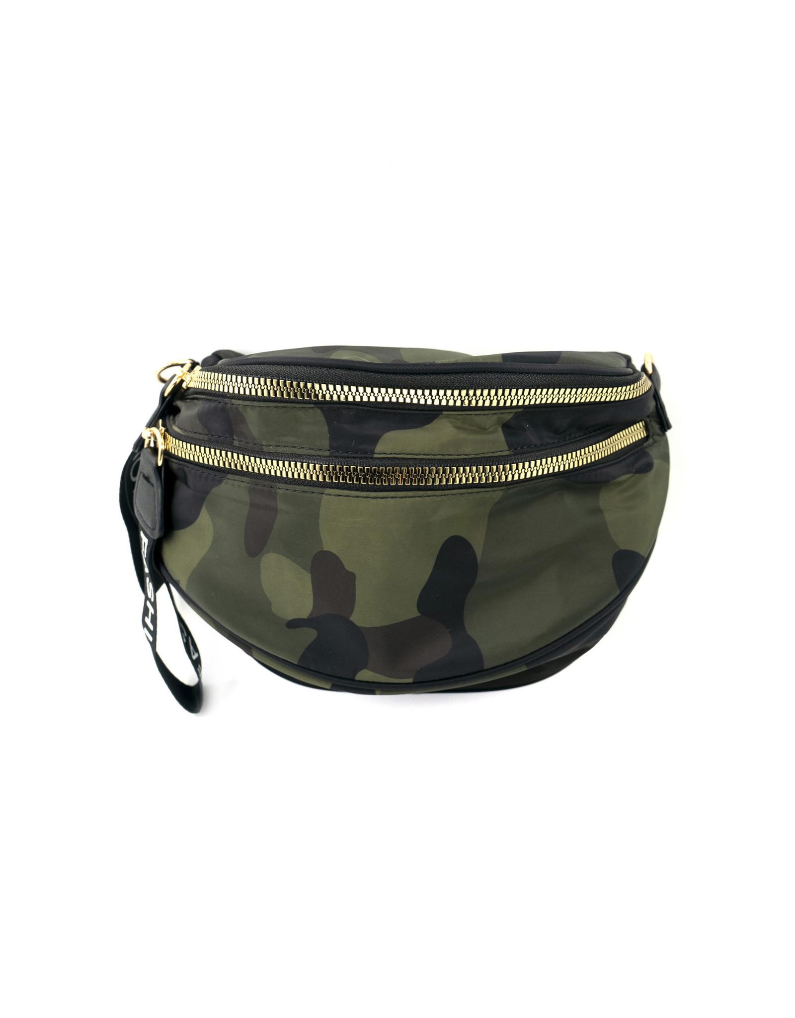 Camo Fanny Pack/Cross-body Bag